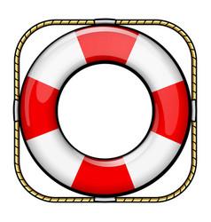 Life buoy drawing design vector