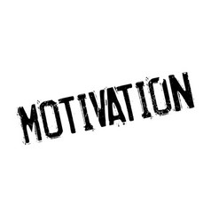 Motivation rubber stamp vector