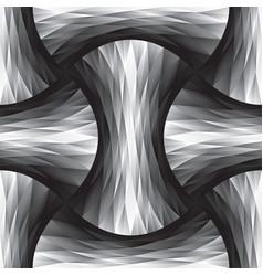 polygon geometric seamless pattern vector image