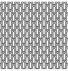 seamless pattern of arrows vector image