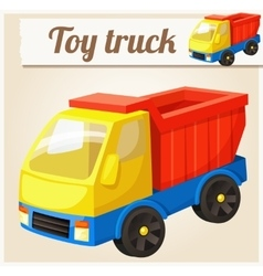 Toy truck Cartoon vector image