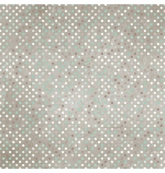 Vintage Polka Dots Background vector