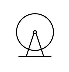 ferris icon vector image