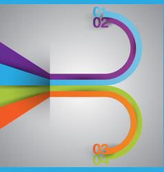 minimal infographics vector image