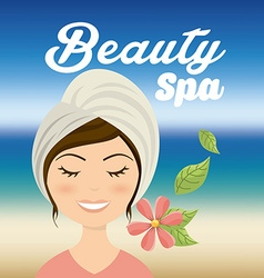 salon spa vector image