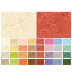 abstract backgrounds 32 color variations vector image