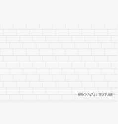 Brick wall background - seamless white vector
