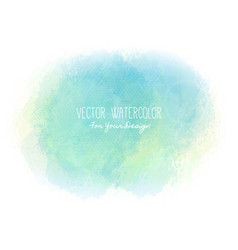Bright stain pseudo watercolor paint texture vector