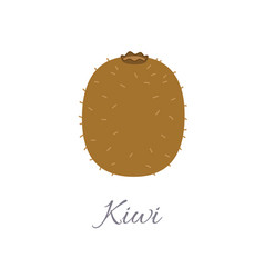 Kiwi icon with title vector