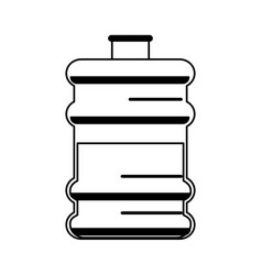 Office water cooler bottle icon image vector