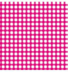 red checkered seamless patterns vector image