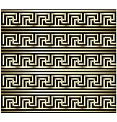 Greek Key Swastika Design vector image vector image