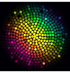 Colorful lights - abstract background vector image