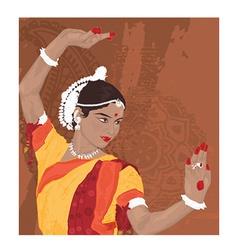 Indian woman vector