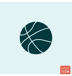 Baskettball ball icon vector image