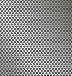 metal texture pattern with holes vector image vector image