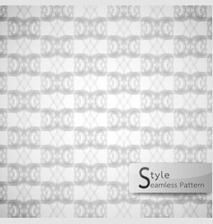 abstract seamless pattern grid lattice white vector image