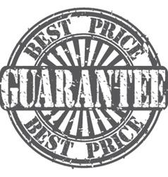 Best Price guarantee stamp vector image