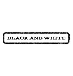 black and white watermark stamp vector image