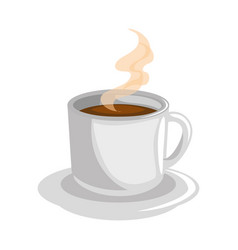 Coffee latte espresso vector