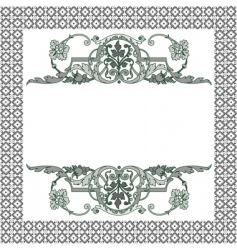 frame patterns vector image