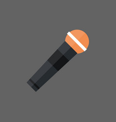 Microphone icon modern mic audio system technology vector