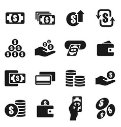 Money an icon6 vector