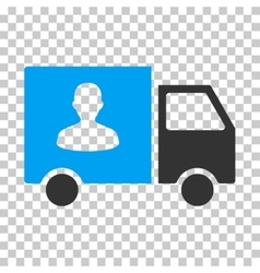 Passenger Transport Van Eps Icon vector