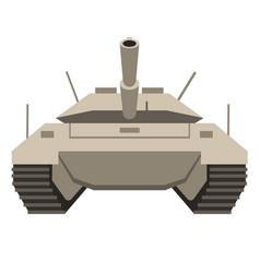 Tank flat vector