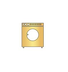 Wash computer symbol vector