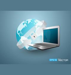 world lock security 4 vector image