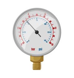 Barometer iconcartoon icon isolated vector