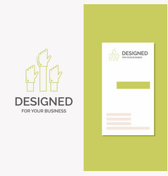 Business logo for aspiration business desire vector