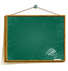 green board vector image