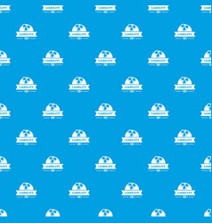 Liability pattern seamless blue vector