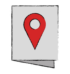 Paper with pin location vector