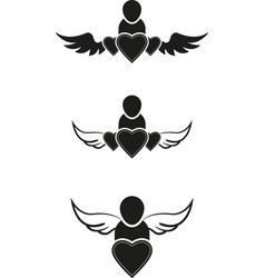people symbols vector image