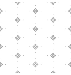 Seamless pattern with fine geometric shapes vector