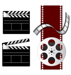 film elements vector image vector image