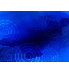 Abstract blue background business presentation vector image