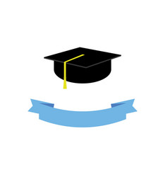 graduate hat concept graduation from university vector image