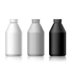 Big plastic bottle vector image