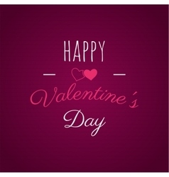 Happy Valentines day lettering photo vector image