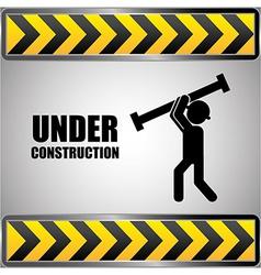 Construction design vector