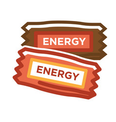 different energy bars vector image