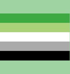 flag rectangular shape icon on white background vector image