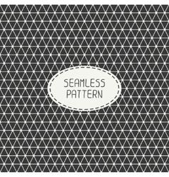 Geometric monochrome abstract seamless polygon vector