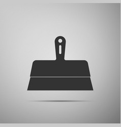 putty knife icon isolated spatula repair tool vector image