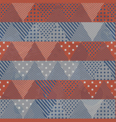 retro cloth seamless pattern vector image