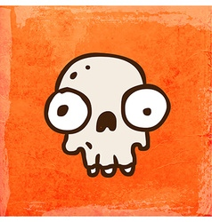 Skull Cartoon vector image
